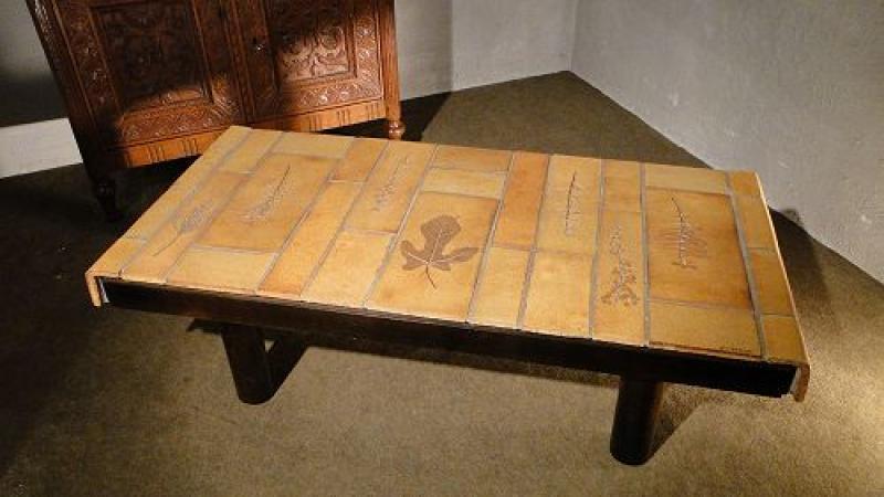 table basse de capron au r veil du temps. Black Bedroom Furniture Sets. Home Design Ideas