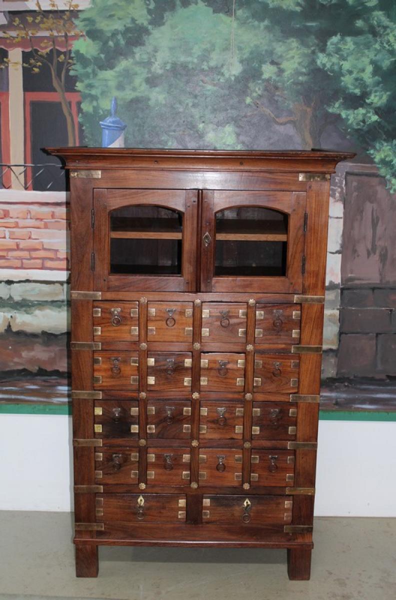 meuble de mtier en palissandre xixe