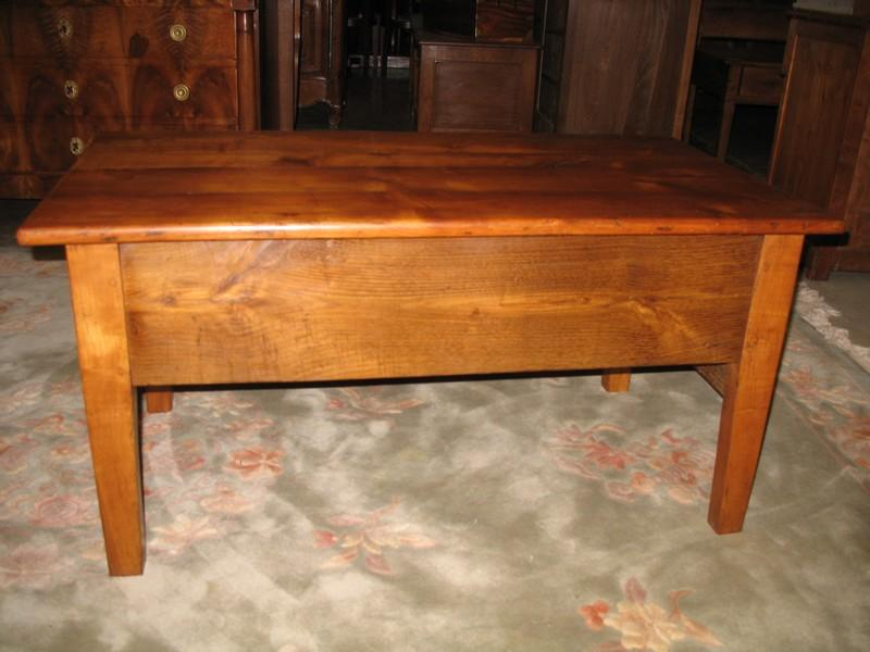 Table rustique de salon xixe antiquites lecomte - Table de salon rustique ...