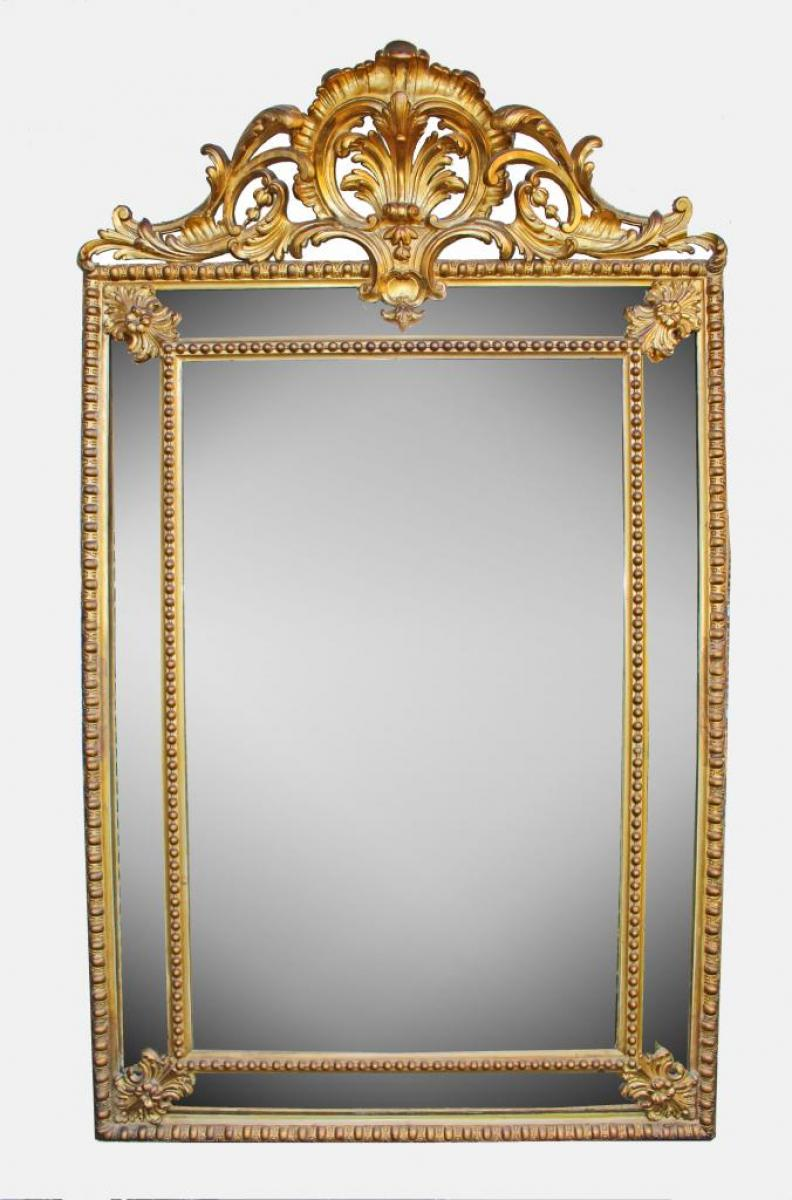 miroirs anciens louis xv antiquites en france. Black Bedroom Furniture Sets. Home Design Ideas