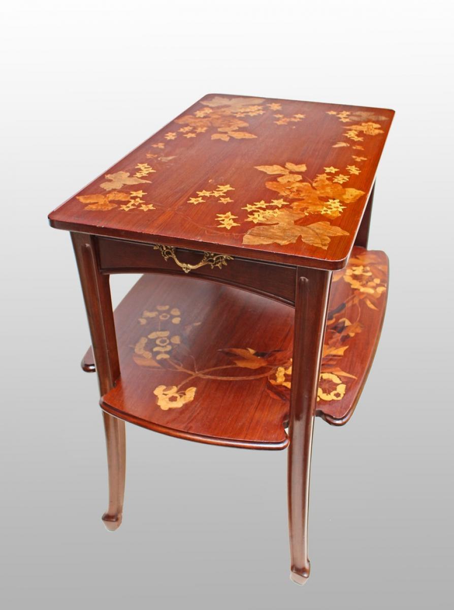 louis majorelle table desserte art nouveau vers 1900 galerie. Black Bedroom Furniture Sets. Home Design Ideas