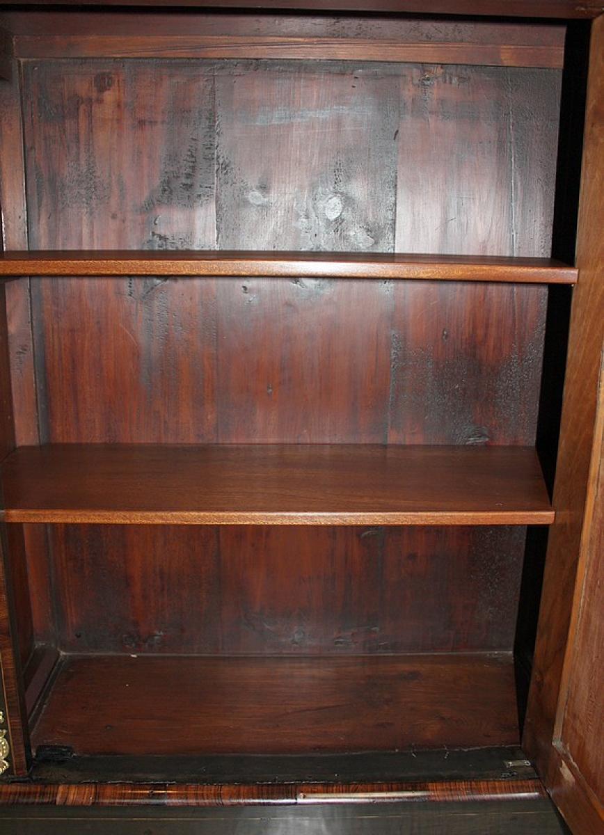 Paire de meubles napoleon iii marqueterie xixe for Meuble napoleon 3