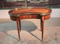 "Table ""Rognon"" en Bois de Rose XIXeme"