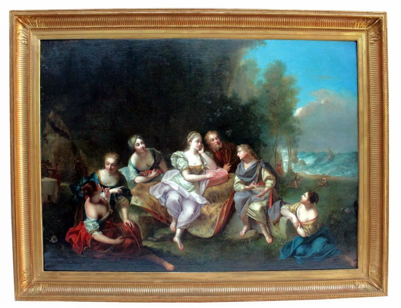 Tableaux 18ème siècle | Antiquites en France