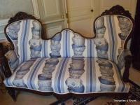 Canapés Napoléon III   Antiquites en France