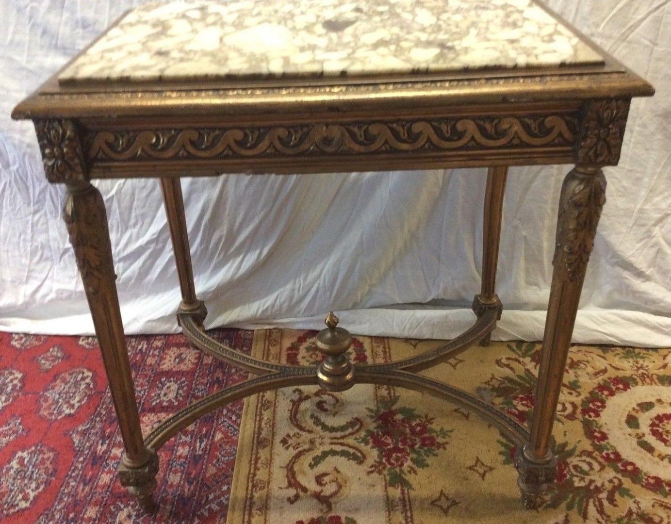 Table Époque Xixeme Louis En Milieu De Xvi Bois Doré JulK1c3TF