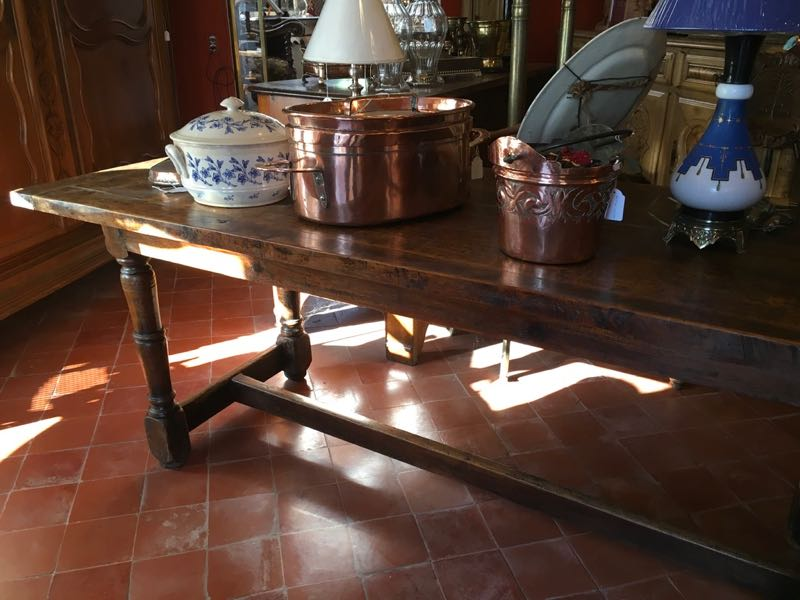 TABLE DE FERME XIXE