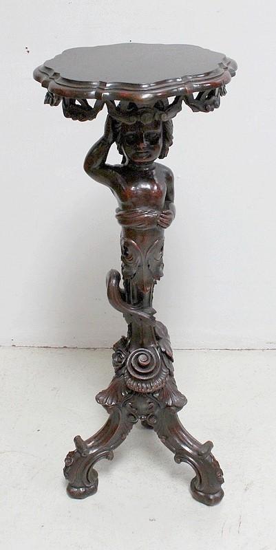 Putti Sculpté En Xixe – Sellette Fin Bois vIYgfm6b7y