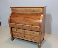 Commode-Bureau Empire en Merisier XIXeme