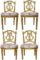 chaises louis xvi antiquites en france. Black Bedroom Furniture Sets. Home Design Ideas