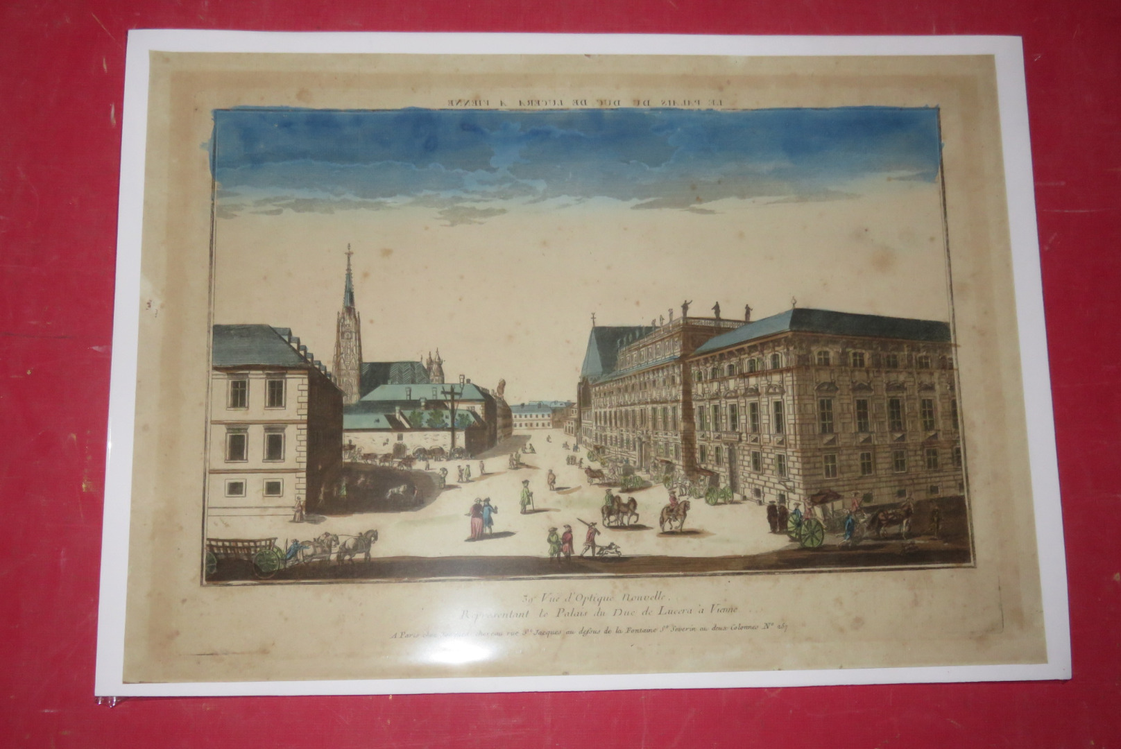 Palais du Duc de Lucera, Vienne