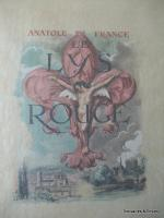 Le lys rouge d'Anatole France, illustrations d'André Hofer, 1947