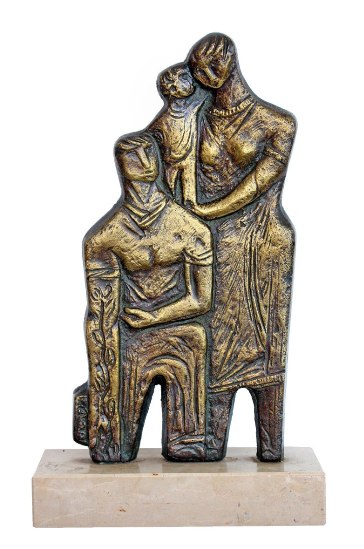Sculpture bronze vers 1950