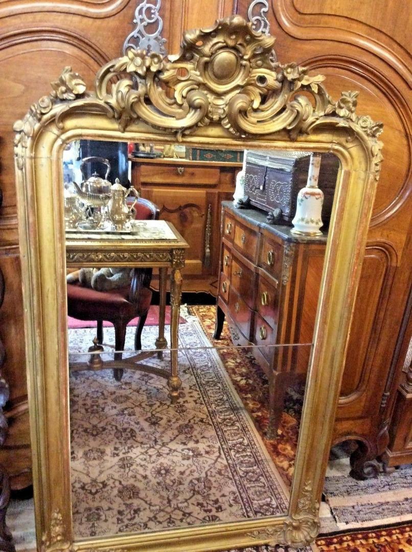 Reconnaitre Le Style D Un Meuble miroirs anciens 18ème siècle