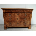 Commode noyer Louis Philippe
