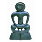 "David Bialobroda 80's bronze ""Placid & Anger"""