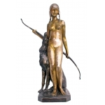 Ary Bitter (1883-1973) Grand Bronze Art Déco