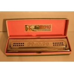 "Ancien harmonica Hohner, ""Echo bell metal reeds"", XXème"