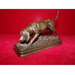 "Bronze ""chien courant"" Alfred Dubucand (1828-1894)"