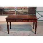 Table-Bureau Louis-Philippe en Acajou XIXeme