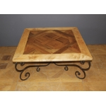 Table basse parquet de Versailles