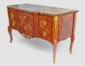 J-L Cosson (1737 - 1812) Commode sauteuse XVIIIe époque Transition