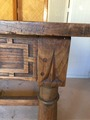 Table de ferme rustique